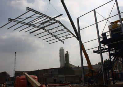 Staalbouw voor industrie Oost-Vlaanderen Franckaert - De Munck