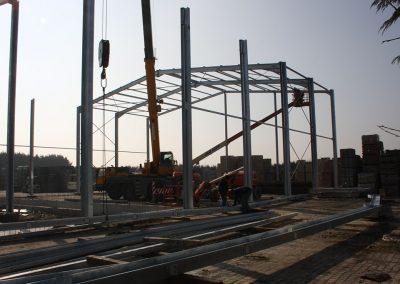 Bouw industriegebouw Oost-Vlaanderen