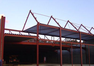 Industriegebouw - bouw winkel industriële bouw Franckaert - De Munck