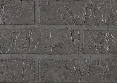 Betonmuren baksteenmotief rustiek