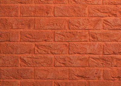 Betonmuren baksteenstrips