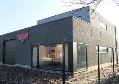 Bouw industrie - showroom - prijsofferte - West-Vlaanderen