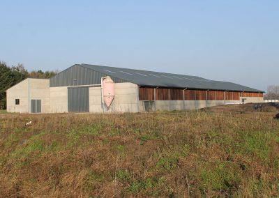 Bouw stallen West-Vlaanderen