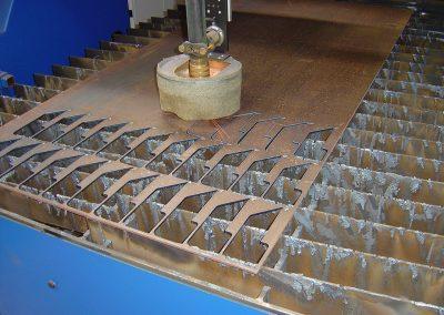 CNC snijmachine - staalbewerking - Antwerpen