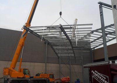 Industriebouw kraanwerk - Oost-Vlaanderen