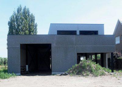 Industriebouw - showroom Oost-Vlaanderen
