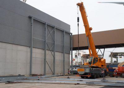 Kraanwerk - telescopische kraan bouw - industriebouw
