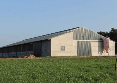 Landbouwloods bouwen West-Vlaanderen