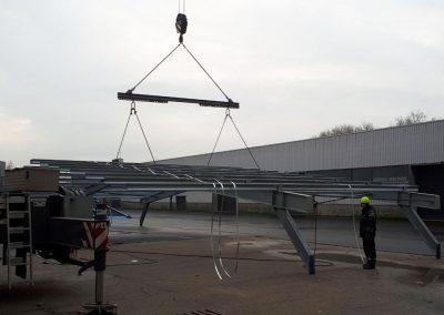 Metaalconstructies - staalbouw voor industrie prijsofferte