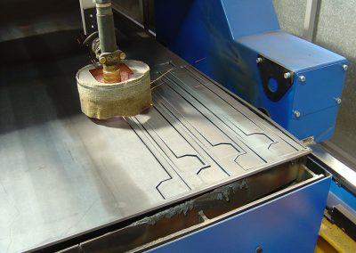 Plaatbewerking CNC snijmachine