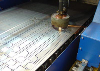 Snijmachine CNC Oost-Vlaanderen plaatbewerking