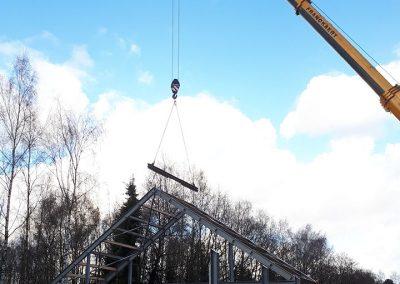 Bouwen staal indsutrie Oost-Vlaanderen