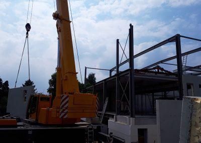 Aannemer staalbouw voor industrie - Franckaert - De Munck