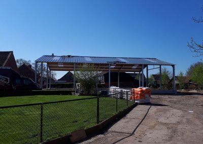 Bouw opslagplaats voor landbouwvoertuigen - Melsele