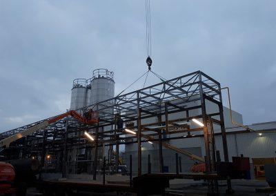 Metaalconstructies voor industriële toepassingen