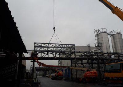 Monteren staalconstructies MEtaalbouw Franckaert
