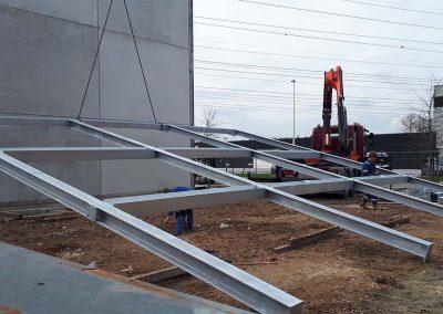 Staalbouw voor industrie - Oost-Vlaanderen