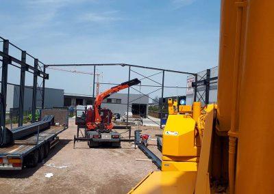 Industriebouw staal - Oost-Vlaanderen - Franckaert - De Munck