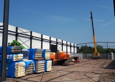 Staalbouw voor industrie - Oost-Vlaanderen - Franckaert - De Munck